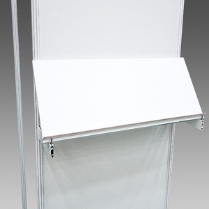 Slopping shelf on wall 1 m (code 380a)